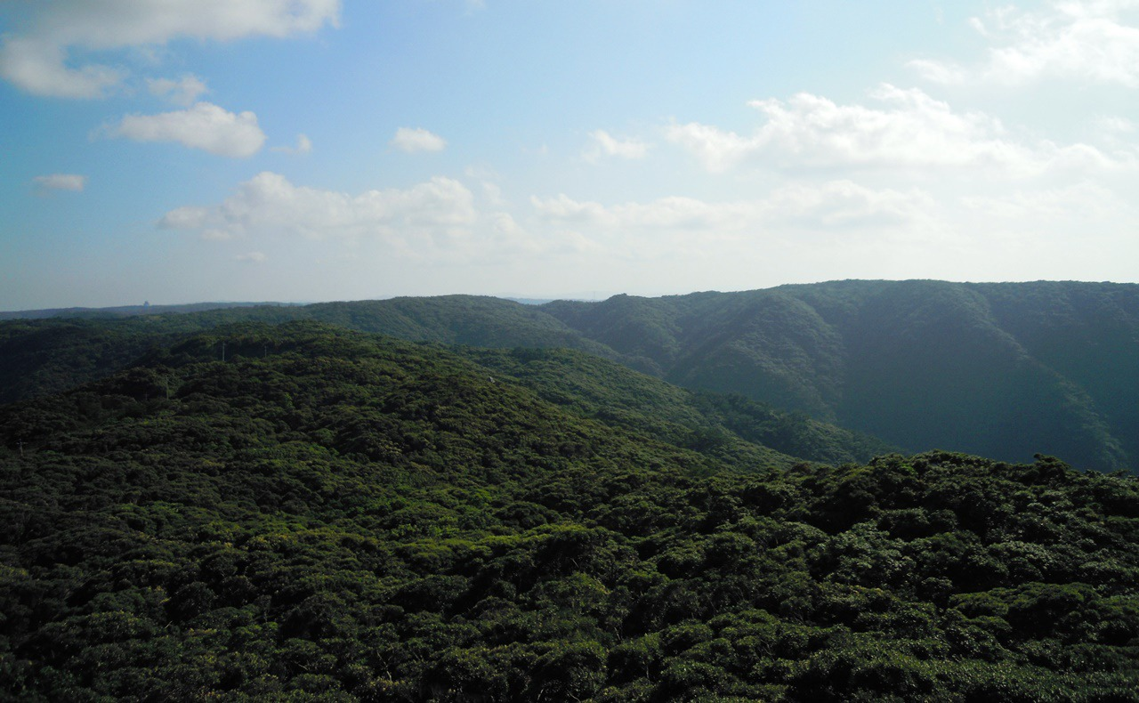 湯湾岳からの景色