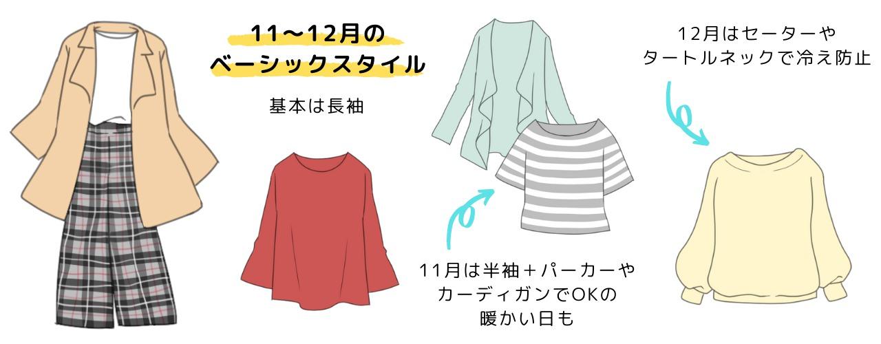 11月・12月の服装