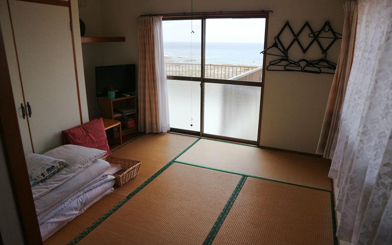 海側のお部屋