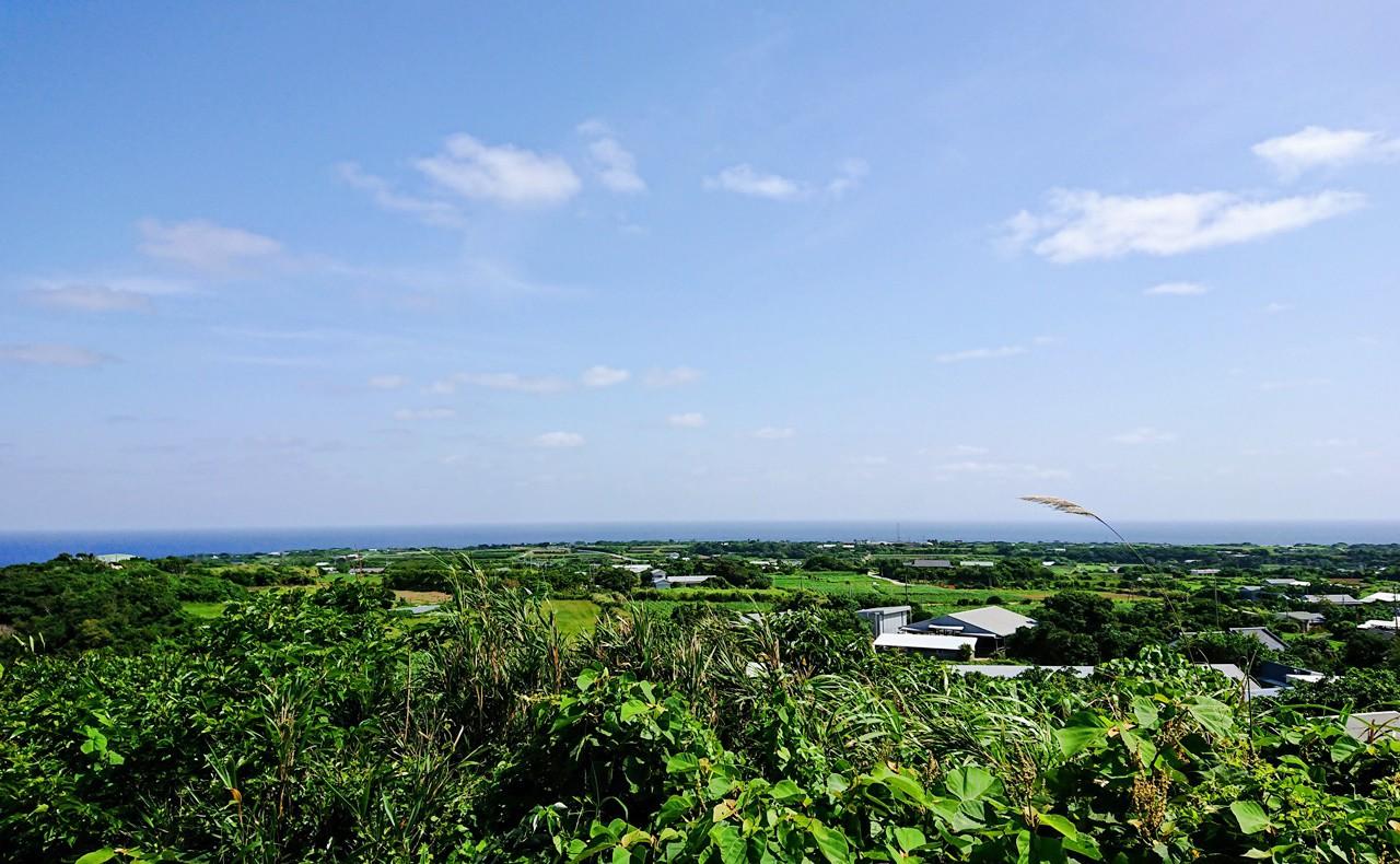舵引き丘からの景色